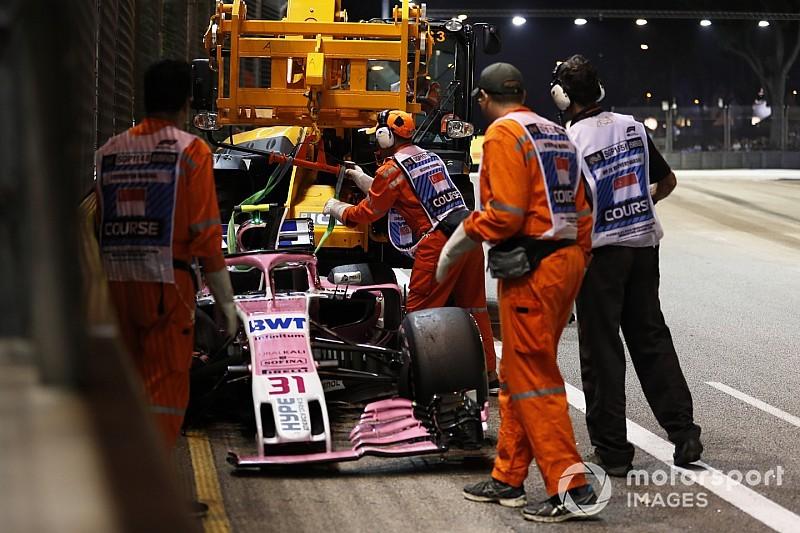 Force India: Ocon e Pérez não poderão mais disputar posições