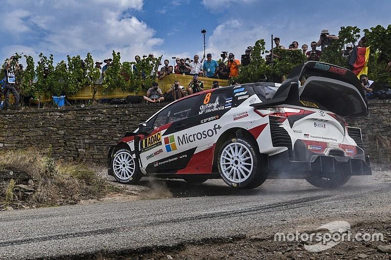 Tänak pas encore totalement à l'aise avec la Yaris WRC