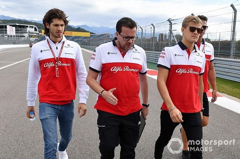 Ericsson: rossz hír volt számomra, amikor Räikkönen aláírt a Sauberrel