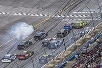 NASCAR Talladega: Wildes Fotofinish mit Crashs - Emotionen um Wallace