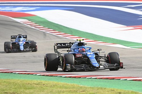 Alonso and Ocon seeking answers on Alpine's Austin struggles