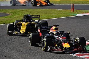 Ricciardo's testverbod in Abu Dhabi 'vleiend' voor Renault