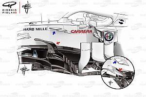 Technikai elemzés: miként lendített az Alfa Romeo a Sauber szekerén
