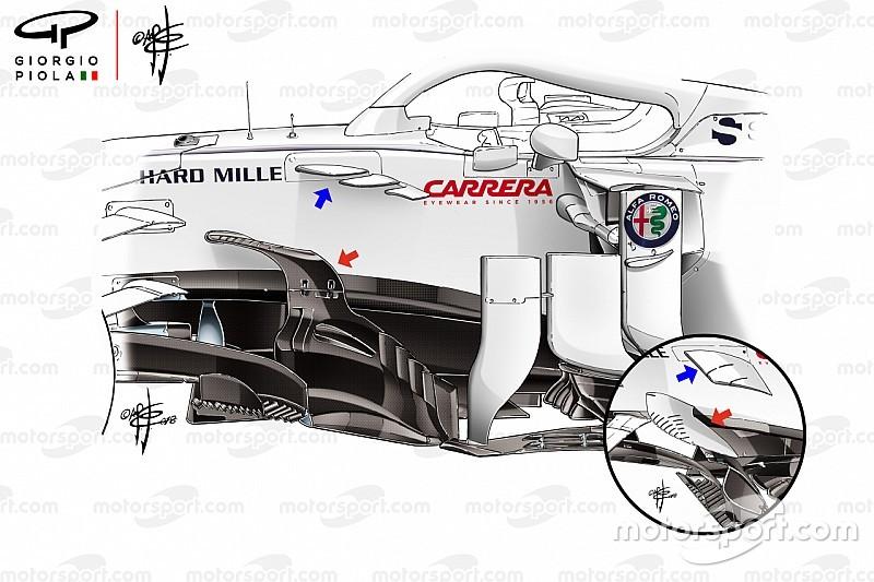 Formel-1-Technik 2018: Wie die Ferrari-Partnerschaft Sauber aufblühen ließ