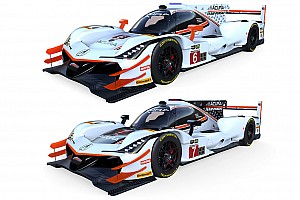 Penske reveals team colors for Acura ARX-05s