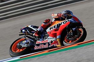 MotoGP Prove libere Valencia, Libere 3: Marquez vola, Dovi solo 8°. Rossi in Q2 di un soffio