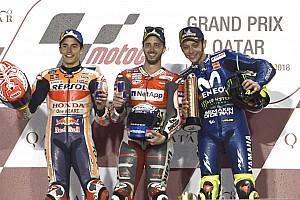 Rossi sebut Marquez-Dovizioso pembalap terkuat saat ini