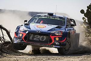 WRC Noticias El accidente de Neuville no cambia su enfoque en el Tour de Córcega