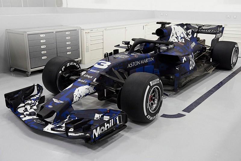 Red Bull reveals its 2018 Formula 1 car