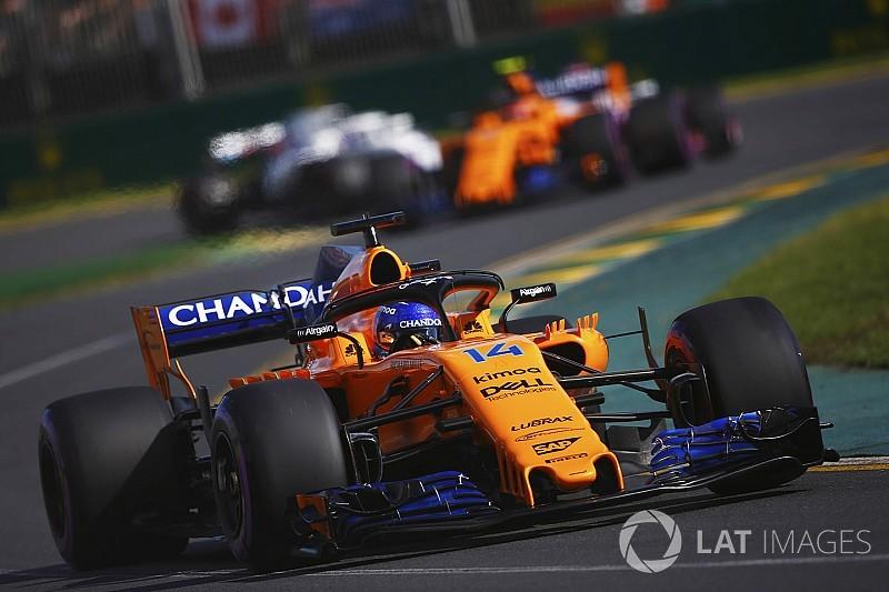 """Em 5º, Alonso exalta bom GP: """"aproveitamos oportunidades"""""""