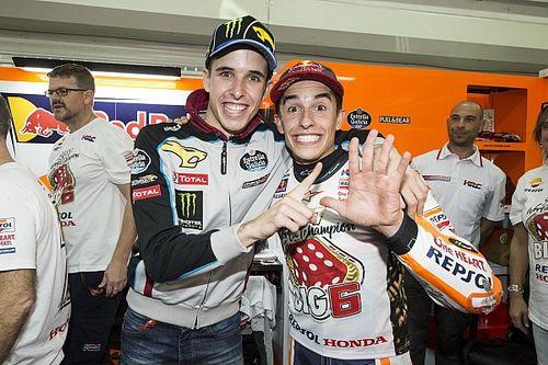 """Marc Marquez über MotoGP-Test von Alex: """"Er sollte viel frühstücken!"""""""