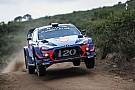 WRCアルゼンチン:初日はヌービル首位。トヨタのタナク2番手で続く