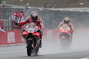MotoGP Race report Motegi MotoGP: Dovizioso snatches last-lap victory from Marquez