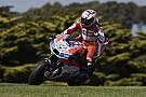 MotoGP Una caída afectó la calificación de Dovizioso en Australia