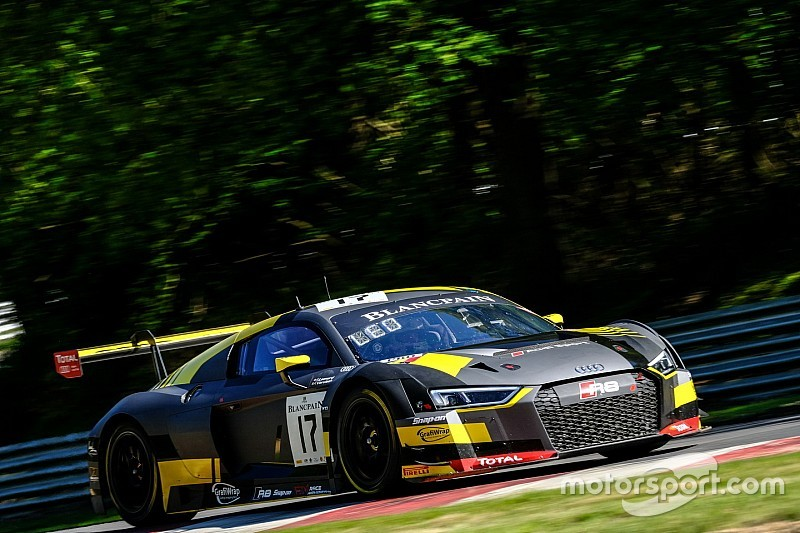 Leonard and Vervisch lead Audi 1-2-3 at Brands Hatch