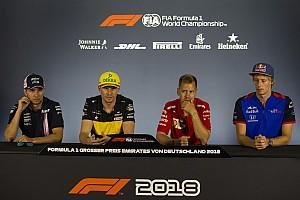 Formula 1 Press conference German GP: Thursday's press conference