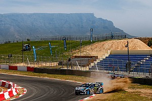World Rallycross Qualifying report South Africa WRX: Block takes early lead in team's final outing