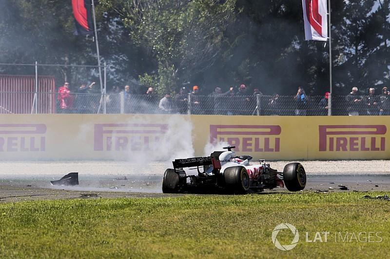 """""""Suffering"""" Grosjean an """"easy target"""" - Haas"""