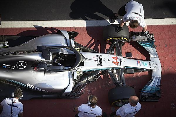 Формула 1 Новость Mercedes подготовила к Монако особую подвеску