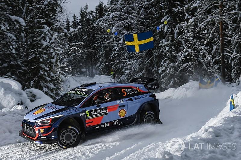 WRC Rallye Schweden: Thierry Neuville führt - Sebastien Ogier weit zurück