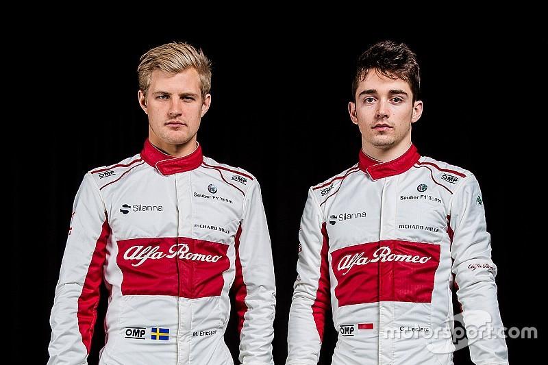 Leclerc ve Ericsson yeni C37'yi kullanmak için sabırsızlanıyor