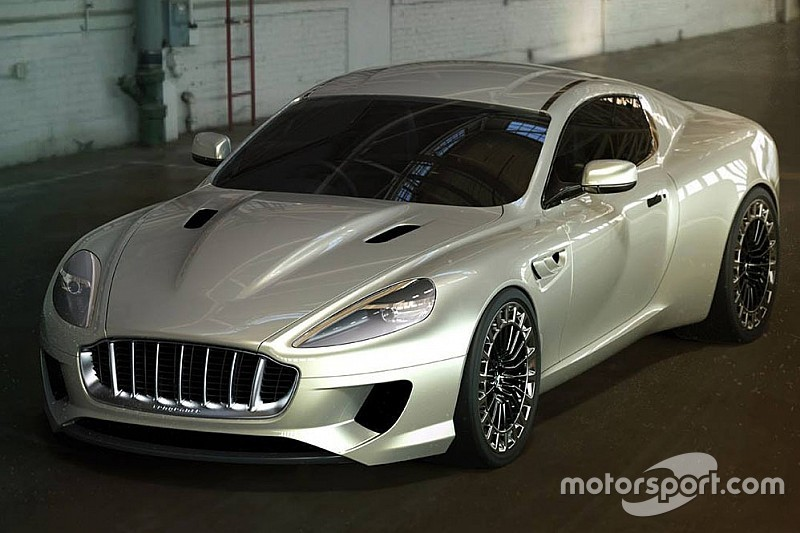 Kahn Design voorziet Aston Martin DB9 van Jaws-kaak
