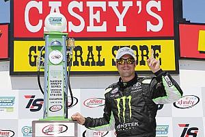 NASCAR XFINITY Crónica de Carrera Hornish Jr. llegó de emergencia y ganó; Suárez sigue como líder