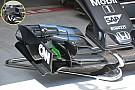 Breve análisis técnico: Cambios en el alerón delantero del McLaren MP4-31
