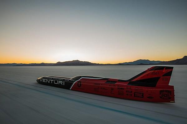 Automotive Neuer Weltrekord: Venturi schafft 576 km/h mit Elektrofahrzeug