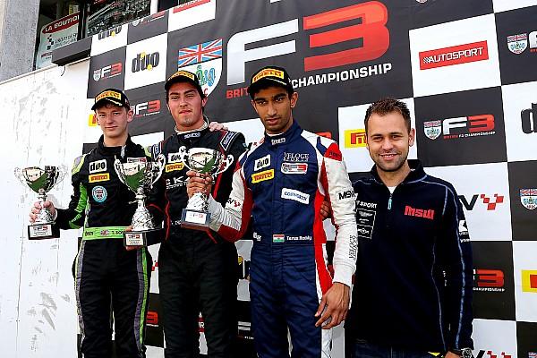 BF3 Spa BF3: Reddy takes Race 2 podium, Rabindra unhurt after Race 1 crash