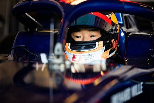Red Bull expects top-four for Tsunoda in F2