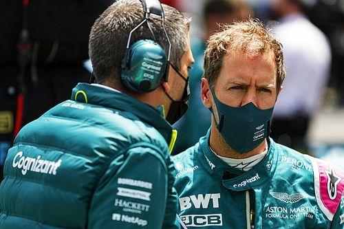 """Vettel está """"disfrutando"""" estar con Aston a pesar de los resultados"""