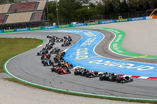 Leclerc explains sensational Bottas pass in Spanish GP