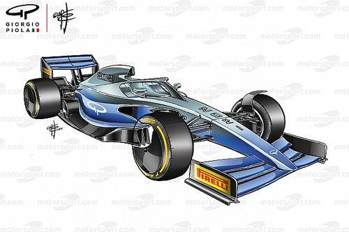 Los F1 2021 regresan al efecto suelo