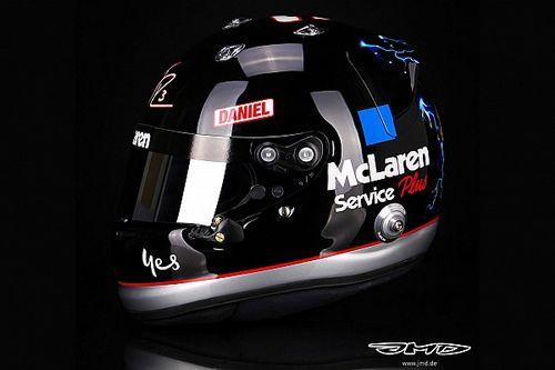 Ricciardo, Amerika GP hafta sonunda Dale Earnhardt Sr onuruna özel bir kaskla yarışacak
