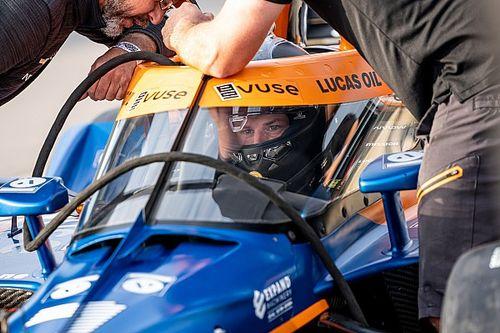 «Это что, шутка?». Хюлькенберг провел первые тесты IndyCar