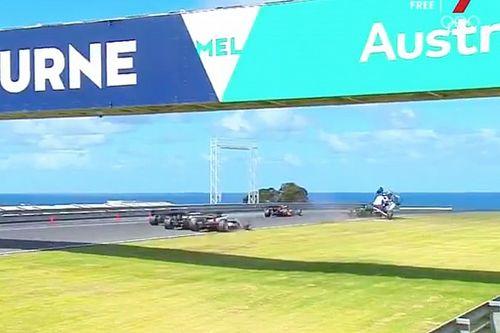 Herne taken to hospital after Phillip Island S5000 crash