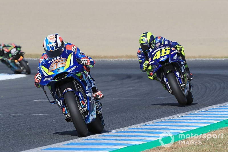 Rossi: Suzuki bile artık Yamaha'dan daha iyi
