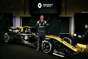 Ricciardo a fait ses débuts au volant de la Renault