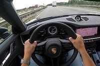 Így gyorsul 0-ról 313 km/órára a Porsche 911 Turbo S az Autobahnon