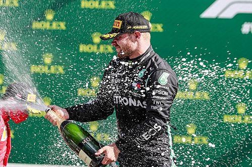 Austrian GP: Bottas wins from Leclerc after Hamilton penalty