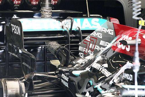 La suspensión de Mercedes F1, ¿una ventaja para la lucha final?