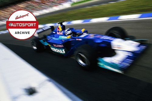Archive: How unflappable rookie Raikkonen took F1 by storm