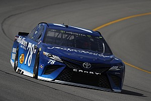 NASCAR Cup Race report Stage 1: Truex earns ninth stage win of the season at Michigan