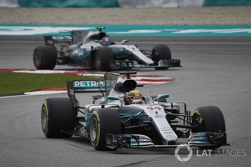 Mercedes trotzt Malaysia-Flop: Hamilton und Bottas mit Update