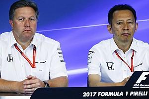 F1 Noticias de última hora McLaren y Honda, muy cerca de romper su relación
