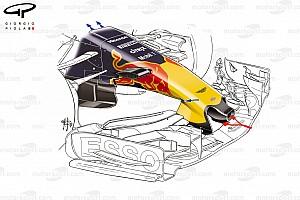 Formule 1 Analyse Tech: De evolutie van de Red Bull RB13 in 2017
