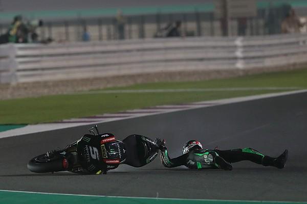 MotoGP Nieuws Zarco zit niet in zak en as na crash aan kop: