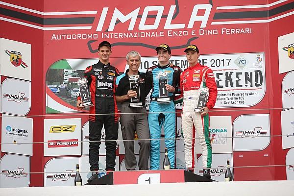 Formula 4 Gara Job Van Uitert concede il bis in Gara 3 ad Imola