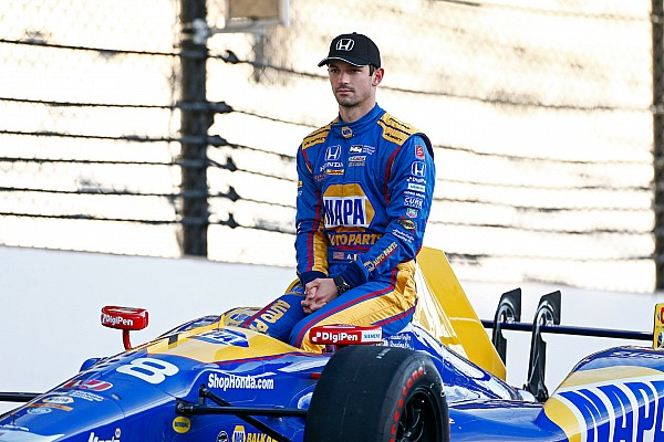 IndyCar Interview Defending Indy 500 winner Rossi feeling no pressure to repeat
